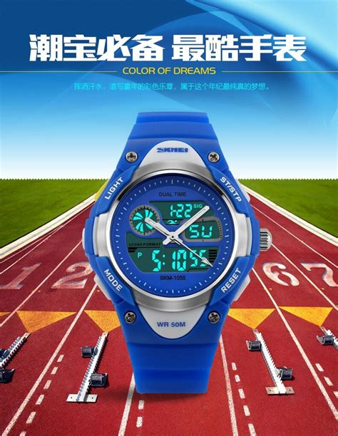 Jam Tangan Outdoor Skmei Casio Sport Led Water Resistant Kuning harga jam tangan waterproof harga yos