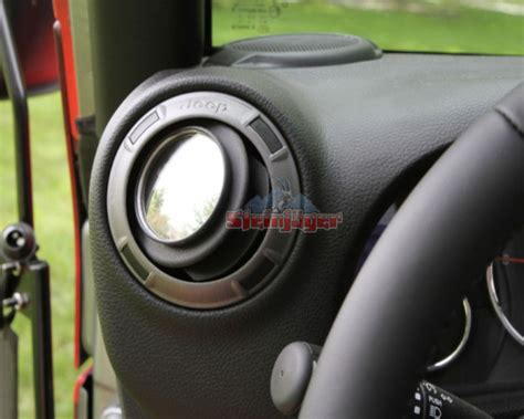 doorless jeep mirrors j0030288 steinjager 2 mirror stick on doorless vent