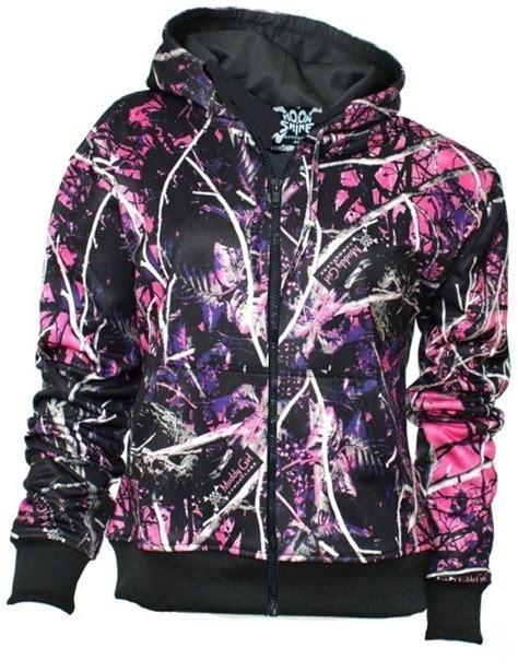 purple muddy camo muddy purple pink camo camouflage hoodie zipper coat