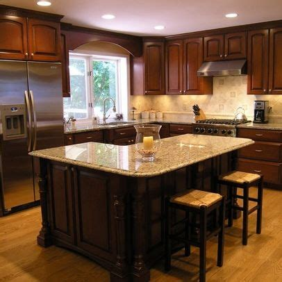 l shaped kitchen designs with island pictures kitchen photos quot l shaped island quot design pictures remodel