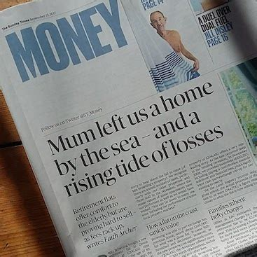 sunday times money section my sunday times article and tips on buying a new build