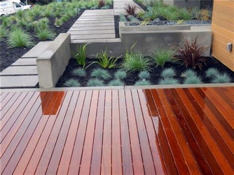 17 tips for wood flooring in the garden or on the terrace