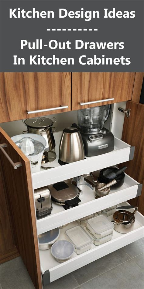 pull out kitchen cabinet drawers 25 best ideas about pull out drawers on slide