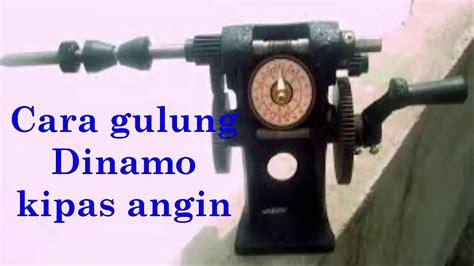 cara menyambung kapasitor kipas angin cara gulung dinamo kipas angin 1