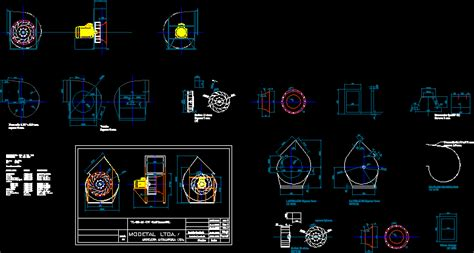 vl centrifugal fan  dwg model  autocad designs cad
