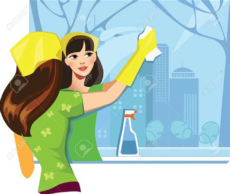 cleaning house windows cartoon house cleaning clip art 64