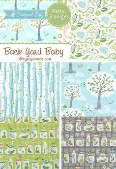 michael miller backyard baby fabric secret garden collection by sandi henderson for michael