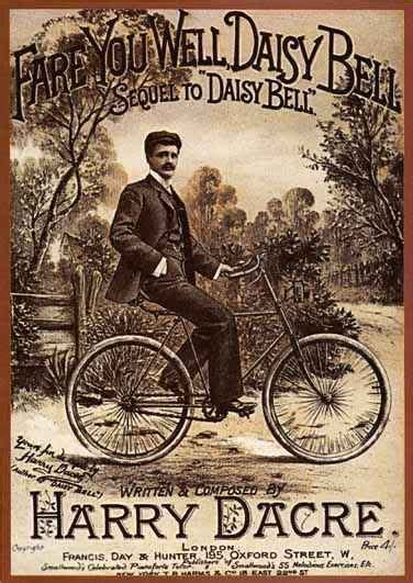 daisy bell a bicycle built for two harry dacre lyrics 252 best images about sheet music on pinterest civil