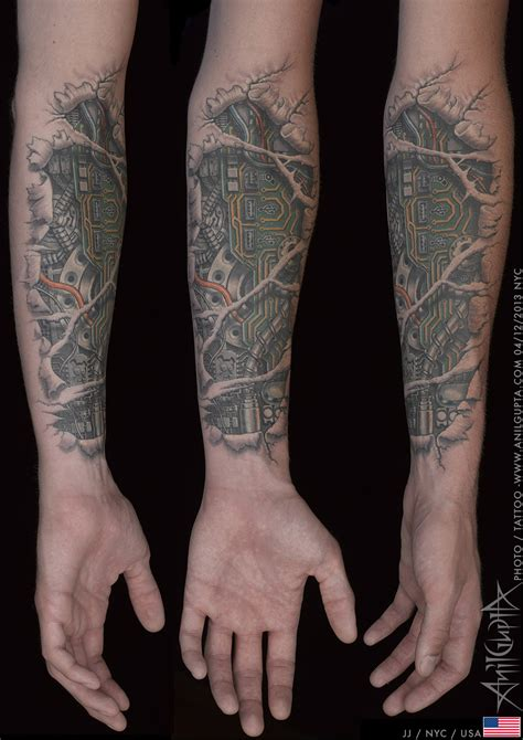 biomechanical tattoo anil gupta anil gupta biomechanical tattoos