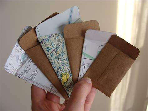 How To Make Envelopes Out Of Scrapbook Paper - something ivory diy mini envelopes