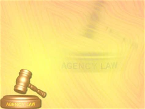 agency law 02 legal powerpoint templates