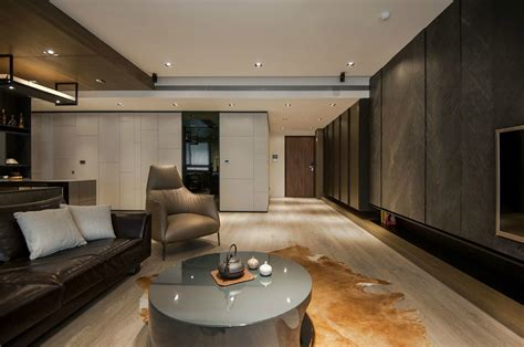 rooms designs and wood make a masculine interior