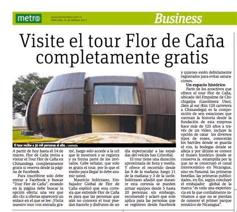 el diario completamente veridico visite el tour flor de ca 241 a completamente gratis diario metro 15 02 2017 notipellas