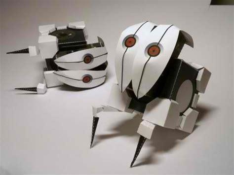 Portal Turret Papercraft - portal 2 frankenturret papercraft papercraft paradise