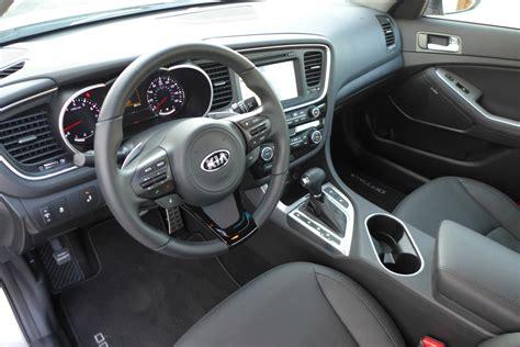 Kia Optima Leather Interior 2015 Kia Optima Sx Review Price Photos Gayot