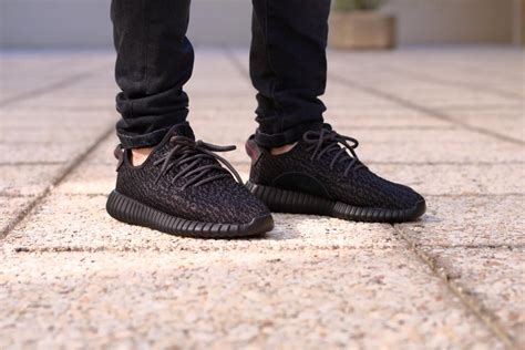 New Adidas Yeezy Boost 350 Import 1 Adidas Yeezy Boost 350 Pirate Black Kanye West Authentic