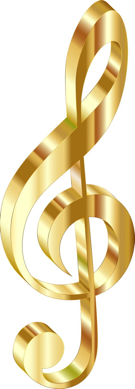 gold wallpaper png clipart gold 3d clef 2 no background