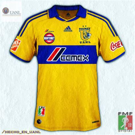 nueva camiseta de tigres nuevo uniforme y playera de tigres uanl del 2011