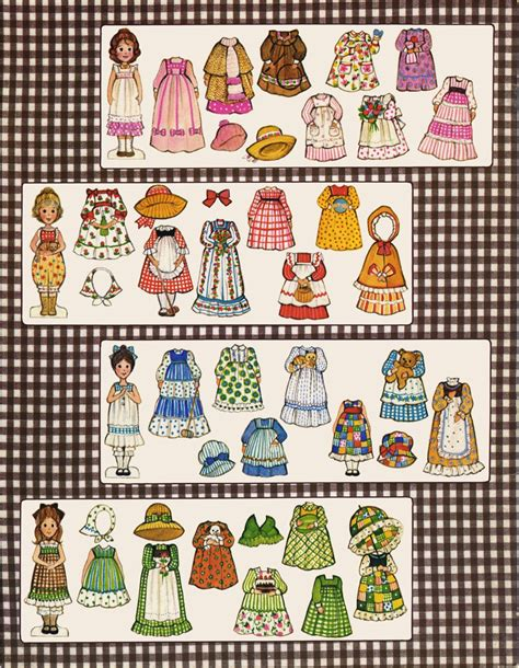 printable paper figures what a website tons of free paperdolls i had these and