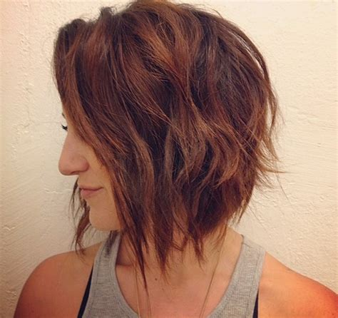 short layered hair styles with soft waves 22 cute graduated bob hairstyles short haircut designs