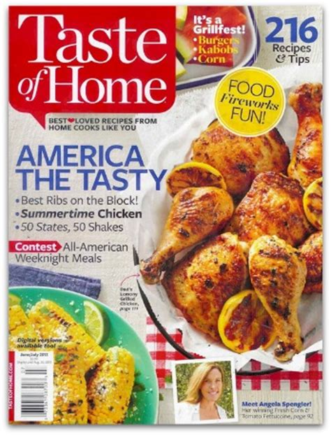free digital subscription to taste of home magazine