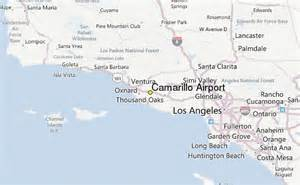 map of camarillo california camarillo airport weather station record historical