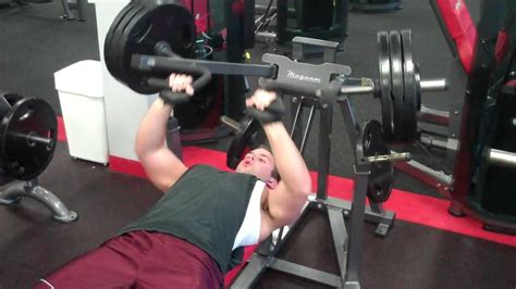 supine bench press bench press plate loaded mp4 youtube