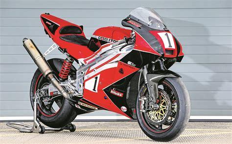 racing biker world exclusive rotary returns mcn
