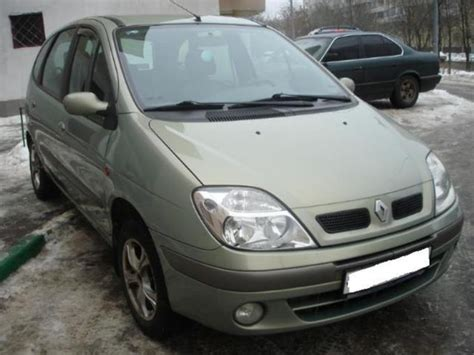 renault scenic 2002 2002 renault scenic pictures for sale