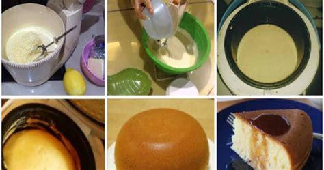 cara membuat kue bolu blue band resep cara membuat bolu dengan menggunakan rice cooker