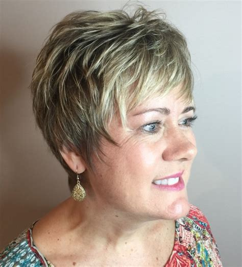 Layered Hairstyles For 50 by 90 And Simple Hairstyles For 50