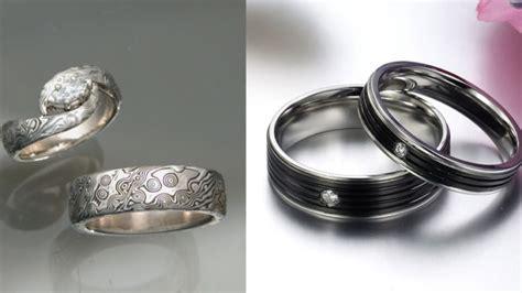 Assorted Cincin Emas Pasangan 6 alternatif logam selain emas untuk cincin kawin referensi buat pasangan muslim nih