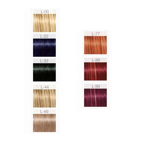igora royal color chart schwarzkopf igora fashion lights colour chart 744904587792