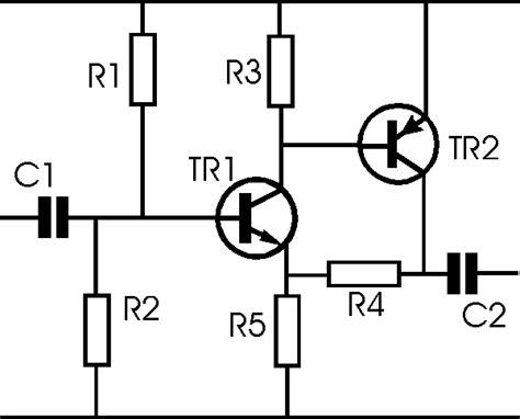 transistor lifier circuit two transistor lifier circuit radio electronics