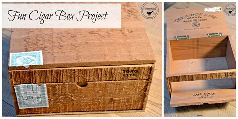 cigar box craft projects homeroad cigar box craft storage