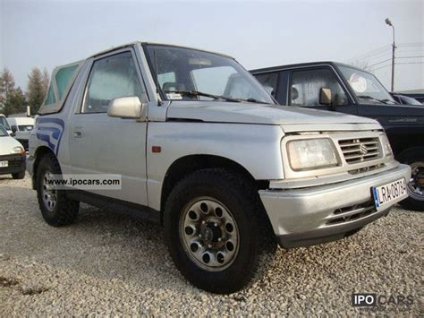 Suzuki Vitara 1995 1995 Suzuki Vitara 1 6 Gaz Skladak Polecam Car