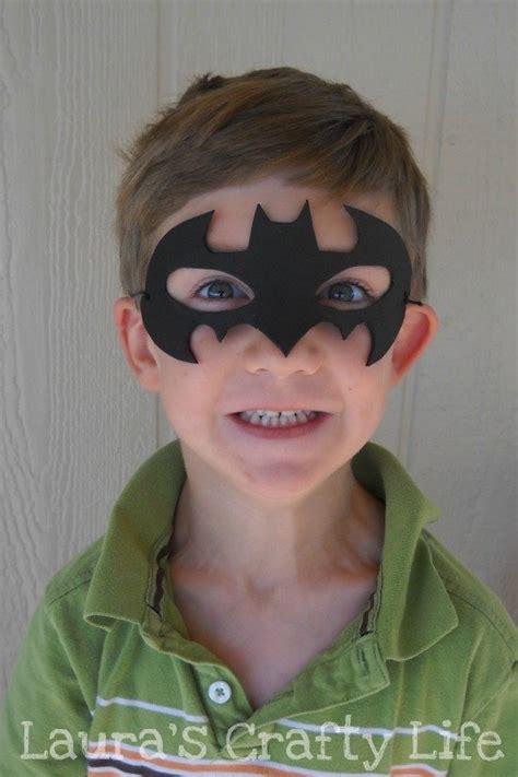 batman mask lauras crafty life