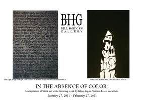 the absence of color in the absence of color