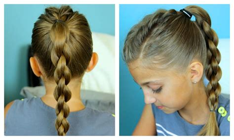 easy triple braided hairstyle babes in hairland single frenchback into 3d round braid easy hairstyles