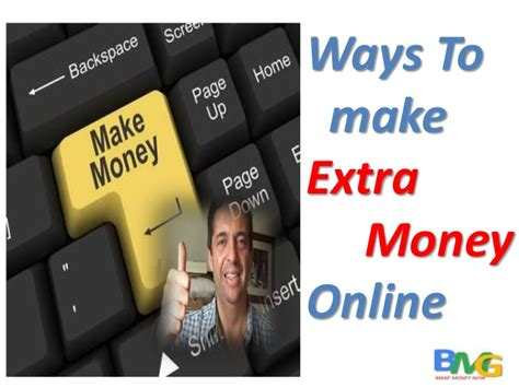 How To Make Extra Money Online - ways to make extra money online