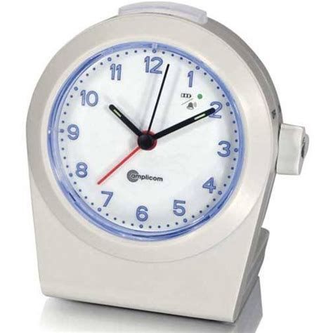 alarm clock bed tcl 100 analog alarm clock with wireless bed shaker