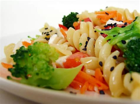 cold recipes vegetarian cold pasta salad
