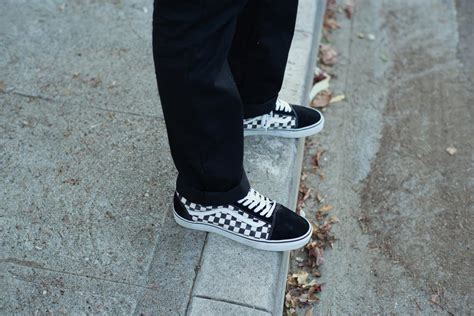 Vans California Navy Motif vans pays homage to iconic motif with checkerboard