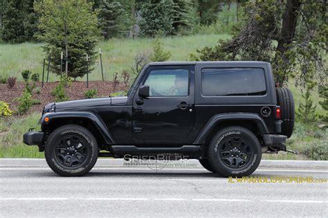 jeep wrangler jl 2018 jeep wrangler jl mule confirms six speed manual