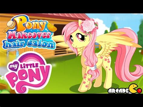 games haircut my little pony my little pony pony makeover hair salon my little pony