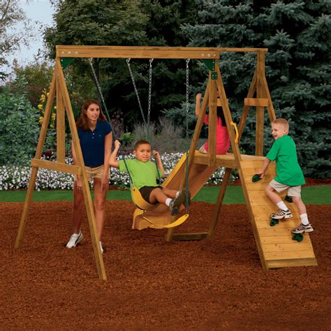 kids backyard swing set backyard summer safety swing sets huntingdon insurance
