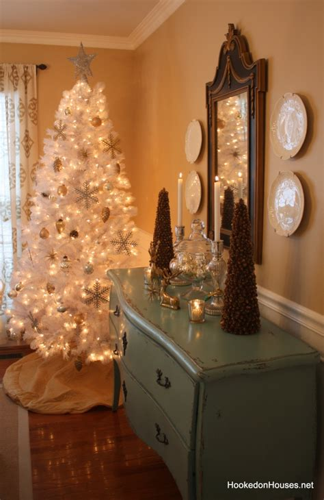 Winter Wonderland Party Decorations For Kids - my dining room decorated for christmas with a white tree