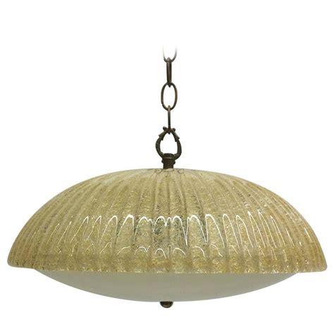 Murano Glass Light Pendants Aureliano Toso Flecked Murano Glass Pendant Light For Sale At 1stdibs