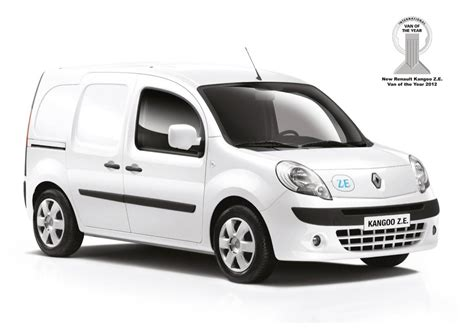renault kangoo 2012 2012 international van of the year renault kangoo van z e