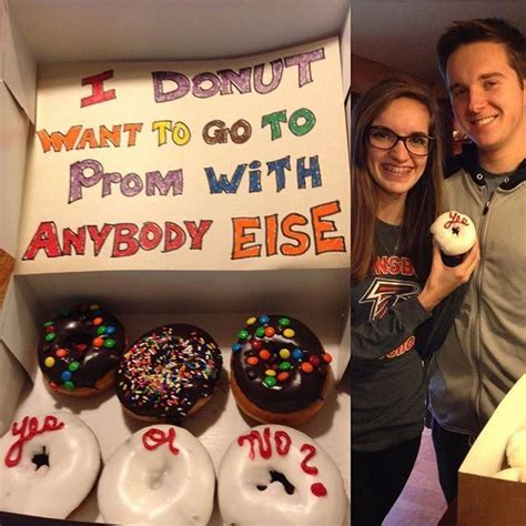 donut prom proposal 17 best images about clv promposals on pinterest